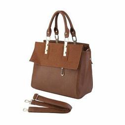 Women Leather Handbag Messenger Shoulder Bag Lady Tote Purse