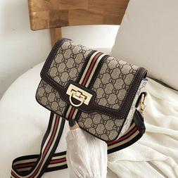 Women Leather Handbag Shoulder Cross Body Bag Tote Messenger