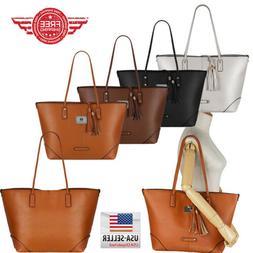 Women Leather Handbag Shoulder Hobo Purse Messenger Crossbod