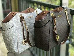 Michael Kors Women Leather Shoulder Tote Bag Purse Handbag M