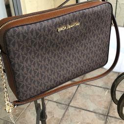 Michael Kors Women PVC Leather Crossbody Bag Handbag Purse M