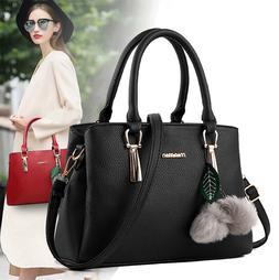 Women's Bag Casual Handbags Fashion PU Leather Handbag Messe