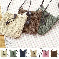 Women's Canvas Handbag Shoulder Messenger Bag Ladies Satchel
