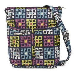 Women's Crossbody Messenger Bag Bohemian Quilted Purse Zip P