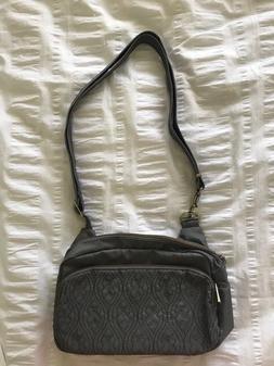 Travelon Women's Grey Messenger Bag