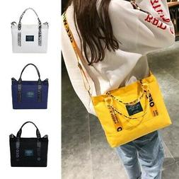 Women's Handbag Shoulder Bags Zip Tote Messenger Purse Canva