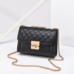 💜Women's Leather Handbag Shoulder Messenger Satchel Tote