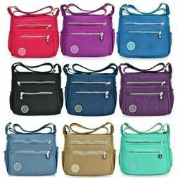 Women's Nylon Handbag Shoulder Bag Ladies Waterproof Crossbo