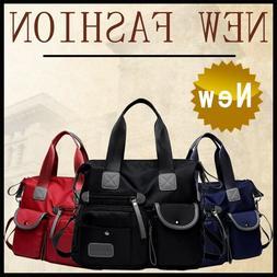 Women's Satchel Shoulder Bag Tote Messenger Cross Body Water