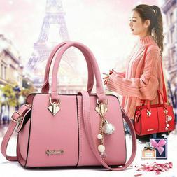 Women's Top Handle Satchel Handbags Shoulder Bag Top Purse M