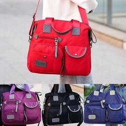 Women's Waterproof Oxford Messenger Cross Body Bag Shoulder