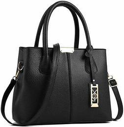 Women Top Handle Satchel Handbags Shoulder Bag Tote Purse Me