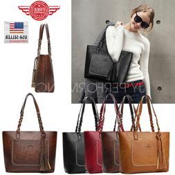 YOLANDO Women Tote Bag Leather Bags Handbag Shoulder Hobo Pu