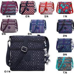 Women Waterproof Nylon Messenger Bags Travel Crossbody Ladie