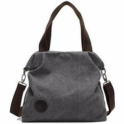 Womens Casual Canvas Shoulder Crossbody Bags Messenger Tote